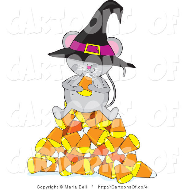Illustration of a Halloween Mouse
